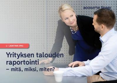 Yrityksen talouden raportointi_cover