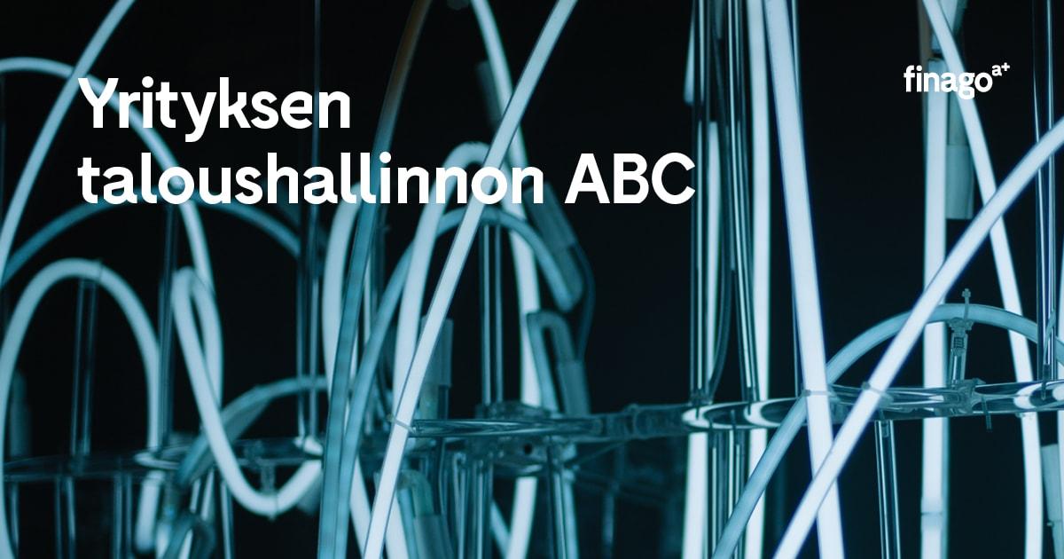 Lataa opas: Yrityksen taloushallinnon ABC