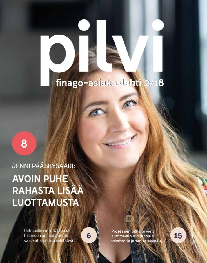 Pilvi-lehti 2/2018 kansi