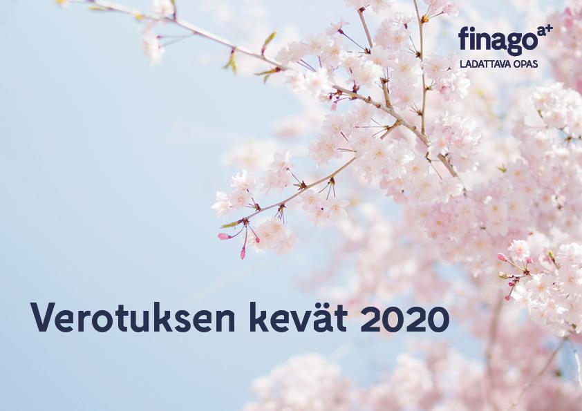 verotuksen kevat 2020_kansi